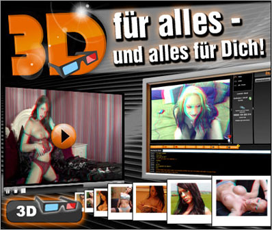 WebCams,Videos und Bilder in 3D